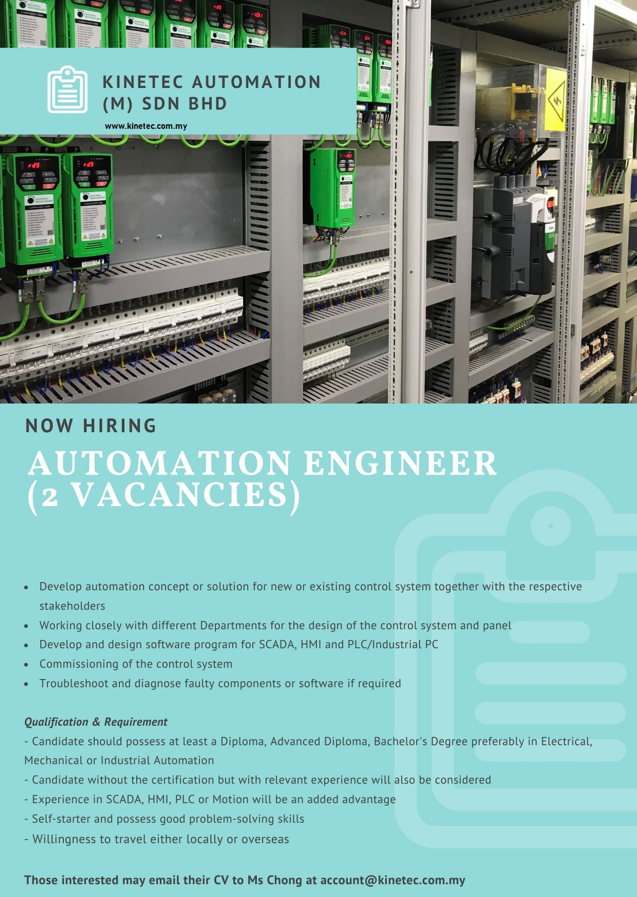 Factory Automation Engineer Jobs